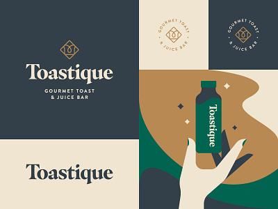 Restaurant Branding color palette serif illustration typography logo identity design branding