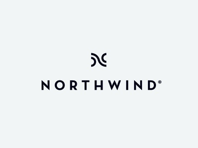 Northwind® luxury logotype brand mark logo design identity branding