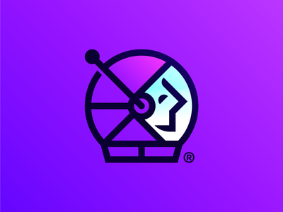 Astro Nut vector illustration color mark icon identity design branding logo
