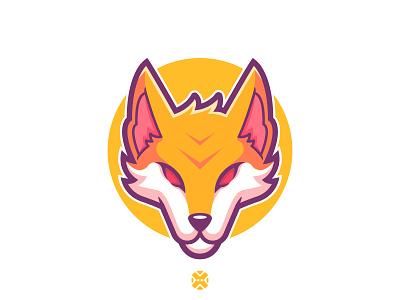 Fox mascot illustration. 🦊🔥 character design cute cartoon brand foxes logo animal illustration design character mascot logo mascot fox