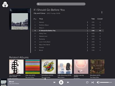 Daily UI 9 – Music Player 9 challenge dailyui music media