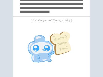 Daily UI 10 – Social Share