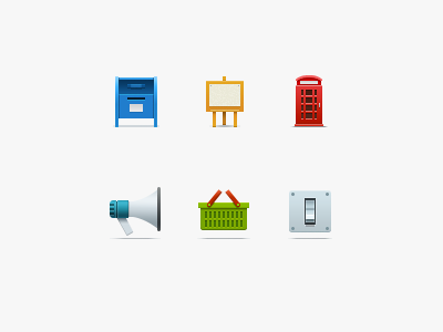 """""""540 Icons"""" Project icons web web design pixel perfect set collab multicolor 540 icons"""