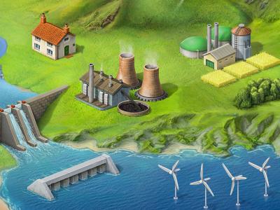 Eco Stuff eco ipad tidal buildings coal power station offshore wind biomass house sea
