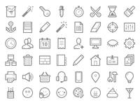 Admin + Web + Smiles Icon Set