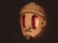 Rogie wooden golem