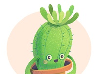Little Cacti illustration art character illustration