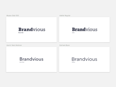 Brandvious Type Concepts