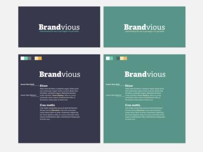 Brandvious Color & Type Pairing