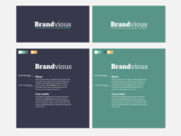 Brandvious Color & Type Pairing