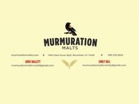 Murmuration Letterhead