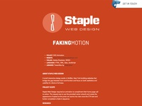 Staple Web Design Case Study