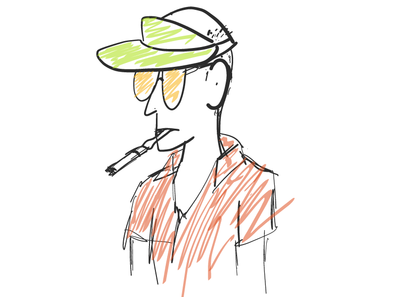 HST sketch ipad