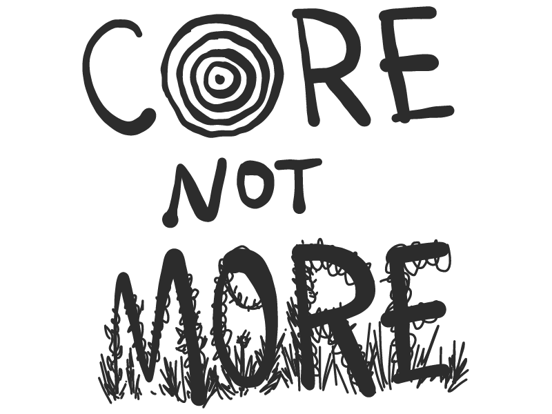 Core Not More sketch ipad