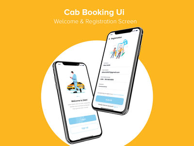 Cab Booking App Ui