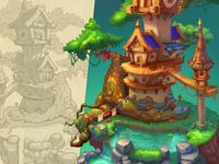 Treehouse | props development