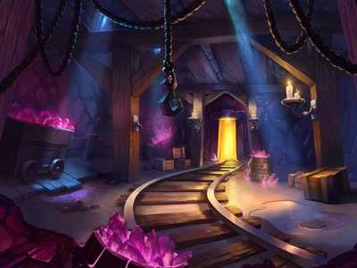 Backgrounds for the Solitaire game game design game art landscape sketch drawing background concept illustration