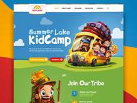 Kidcamp website
