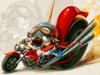 Pug-The Biker