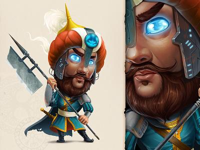 Warrior   LFG warrior art game drawing cartoon character concept illustration