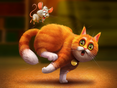 Snickers   Ads illustration cartoon character design snickers poster ads cat concept illustration character