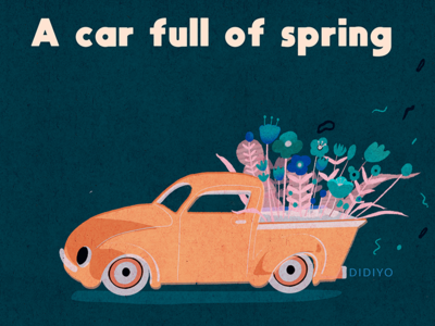 A car full of spring