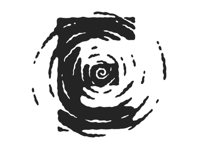 E typography lettering e typefight swirl
