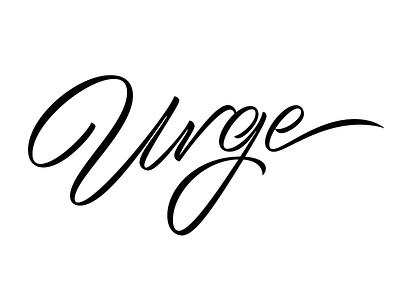 Urge Progress progress process wip swash brush type typography lettering urge