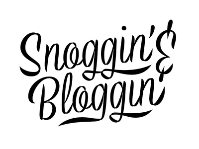 Snoggin' & Bloggin' script brush swash ampersand type lettering typography