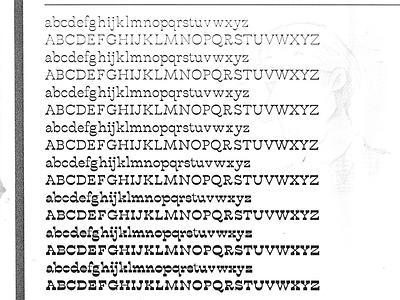 Buffon Interpolation Test buffon type typography typeface interpolation
