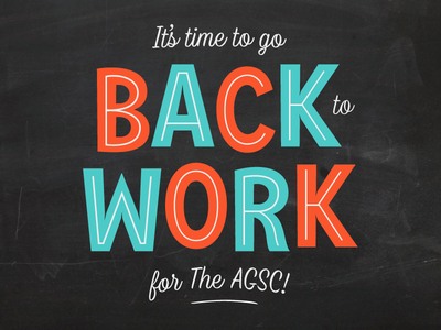 Back To Work type design script typeface font type lettering typography work