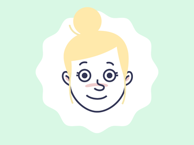 Leading Lady illustration lady animation design character