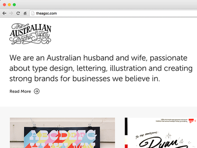 Website Update new work typography type lettering design projects work update website