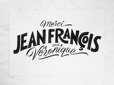 Thank You script typeparis paris france jfp you thank lettering typography