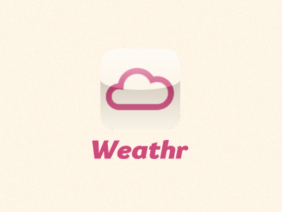 Weathr iPhone App weathr weather app iphone