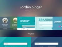 Jordan singer s portfolio   web designer and developer