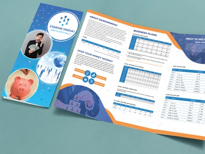Brochure Design graphic design photoshop finance brochure typography ux branding ui illustration design