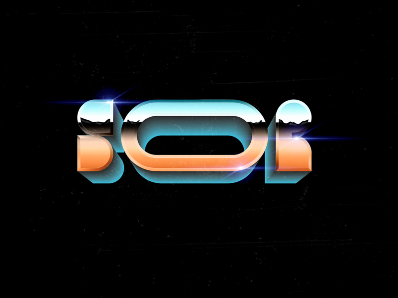 Soor illustrator typography branding vector logo illustration design