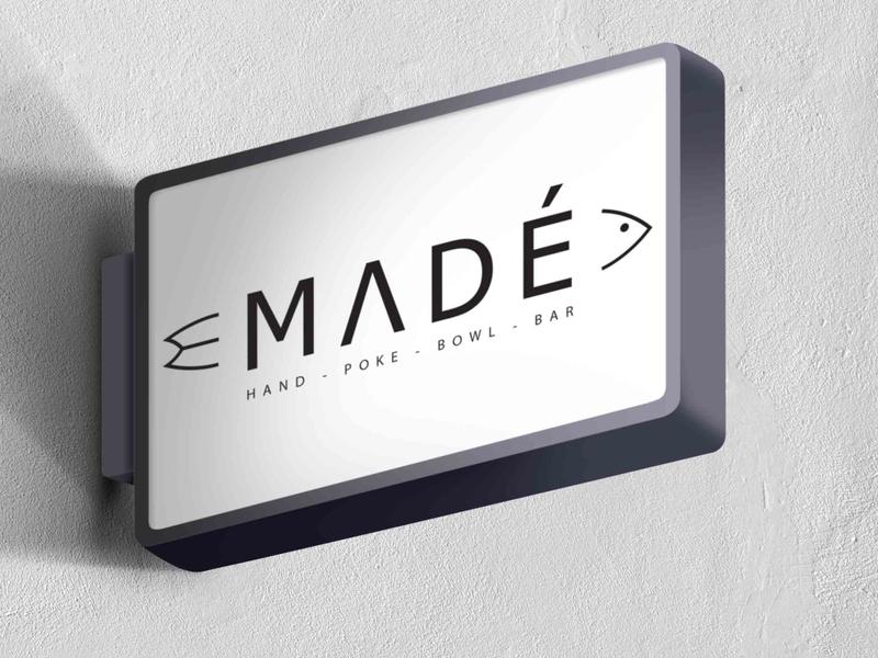 MADE illustrator typography branding vector logo illustration design