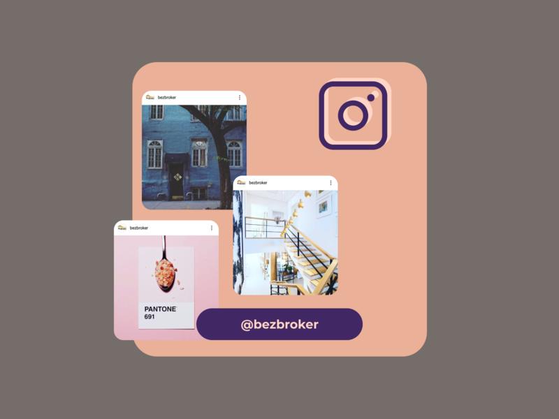 Follow us on Instagram banner instagram design banner social media