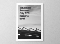 What does Swansea City AFC mean to you?