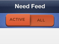 Feed Buttons