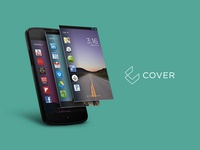 Cover Screen - Android UI