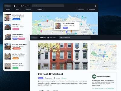 Web - Real Estate Properties web user interface realestate freelance user experience ux ui
