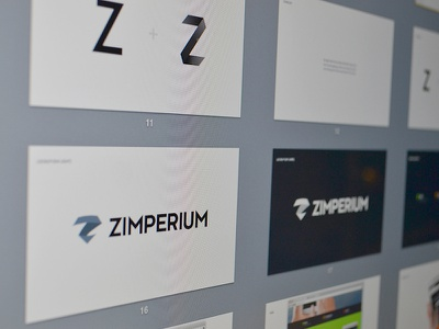 Zimperium - Branding branding logo mark brand identity lockup