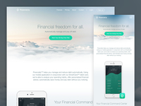 Financial Freedom - Responsive Marketing Website