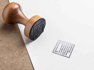 Stamp Mockup (Rejected Mark) - Brand Construction branding chop seal stamp logo logomark identity brand