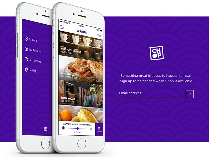 Coming Soon - Landing Page pattern marketing branding ui