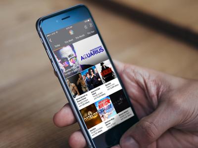 Agendcast - iPhone UI ios9 mobile ui
