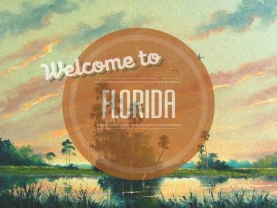 Florida rebound florida vintage